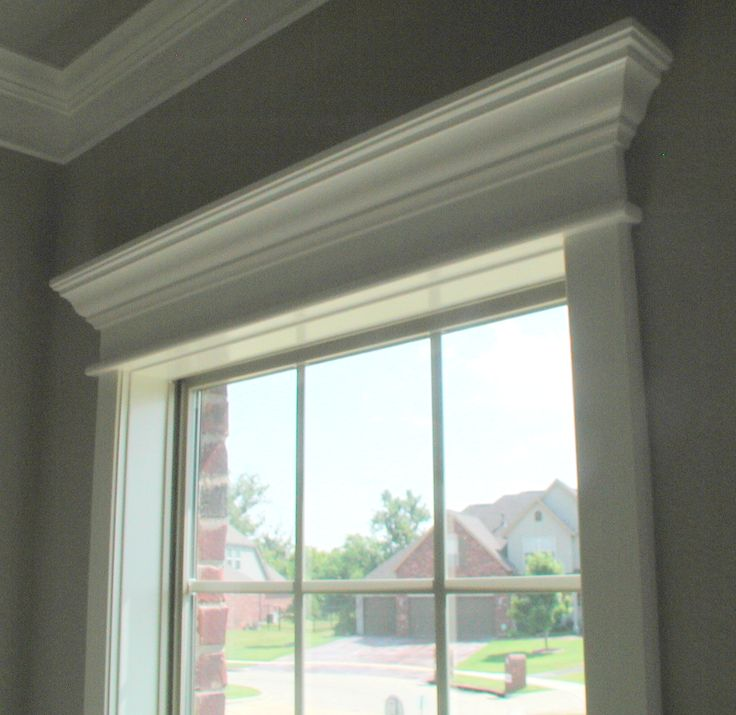 doorway and window molding - Interior Design Windows