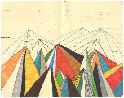 Hollis Brown Thornton #geometric #drawing