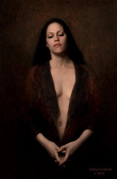 "Nimbus, ©2008 By Adrian Gottlieb Oil on Belgian Linen Size: 36"" x 24"" S. R. BRENNEN GALLERIES"