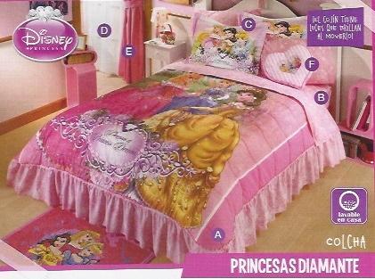 Colcha princesas diamante JI