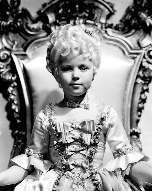 Shirley Temple. I am such a big fan. She is the only one left from that glorious era of film, and she grew up to be an activist and a true feminist.