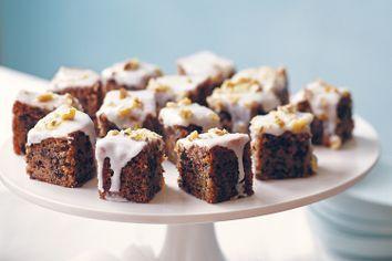 Lemon and walnut cake