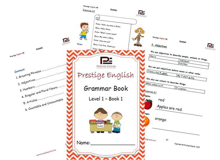 English Grammar Book – Level 1 – Book 1
