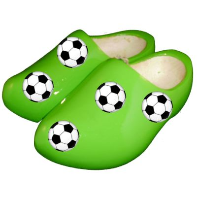 voetbal klompen.
