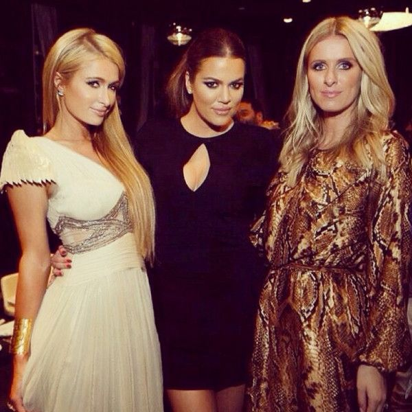 Khlo� Kardashian Reunites With Paris Hilton As Kourtney Kardashian