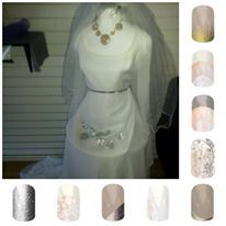 Q's wedding dress
