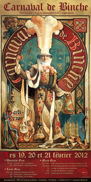 Carnaval de Binche  http://www.carnavaldebinche.be/programme-jour-gras.html