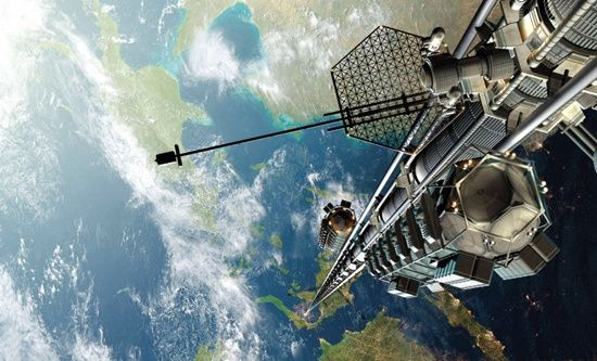 """ BLOG do Ivan maia "" GUAPIMIRIM REAGE BRASIL.: NASA apresenta elevador gigante que ligará o plane..."