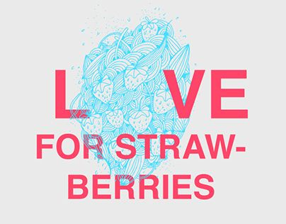 "Check out new work on my @Behance portfolio: ""Love for strawberries"" http://on.be.net/1I7rbjQ"