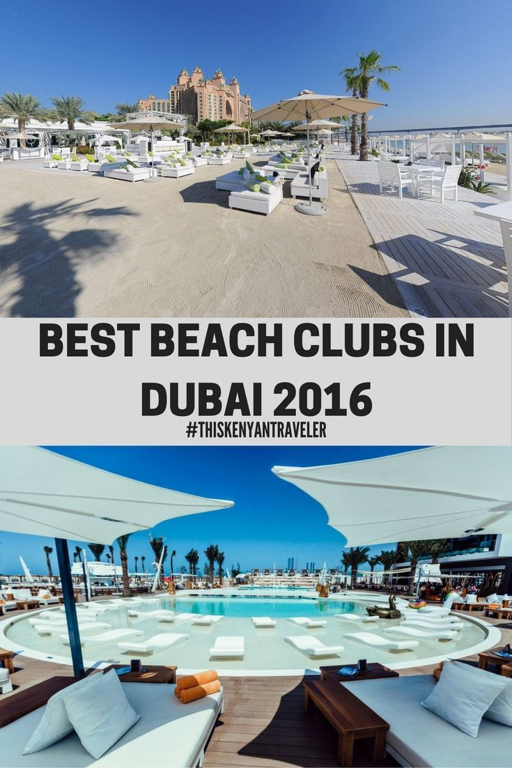 best-beach-clubs-in-dubai-2016