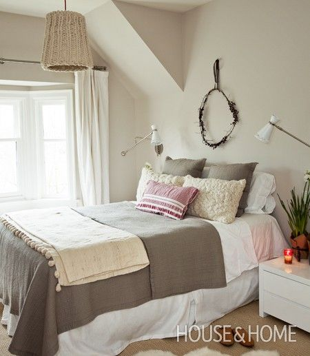 Clunch-Cosy Winter Bedroom | House & Home