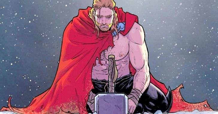Após mais de dois anos de especulação, a Marvel finalmente revelou o segredo queNick Furycontou aoThornas páginas dePecado Original! Hoje, dia 22 de março, a Marvelliberou a última edição da minissérieThe Unworthy Thor,que mostrava o Filho de Odin em busca do Mjölnir do Universo Ultimate. Aqui, o herói de Asgard mais uma vez esteve cara-a-cara …