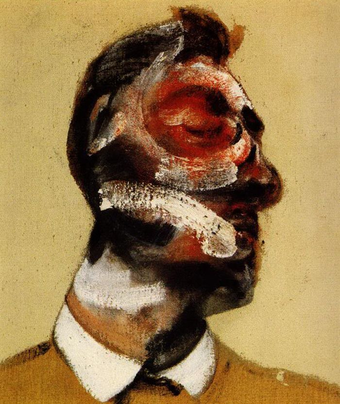 Francis Bacon - Study for a Portrait of George Dyer (1964)