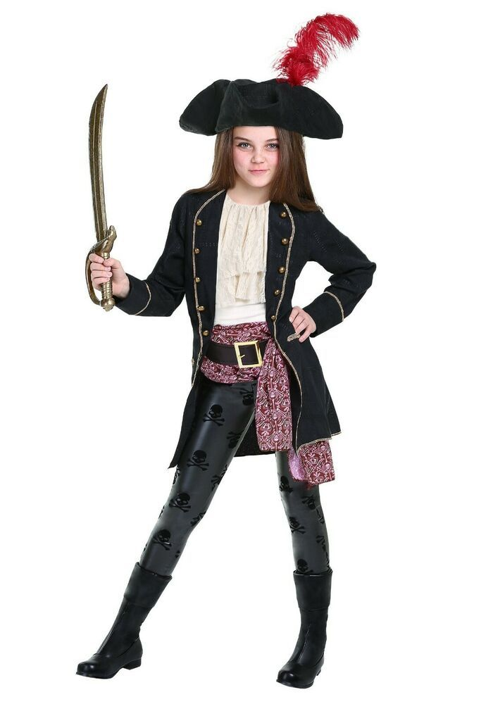 SEA CAPTAIN PIRATE SWASHBUCKLER BOYS CHILD FANCY DRESS UP HALLOWEEN COSTUME