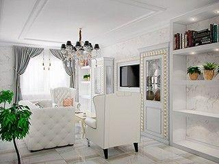 Белая квартира на ул. Коллонтай