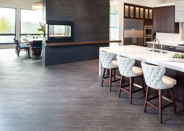 #TraditionalThursday Features A #classic Installation Of Our Alpine  Espresso And Spectrum Syrma By The. Kitchen TileTile FlooringModern ...