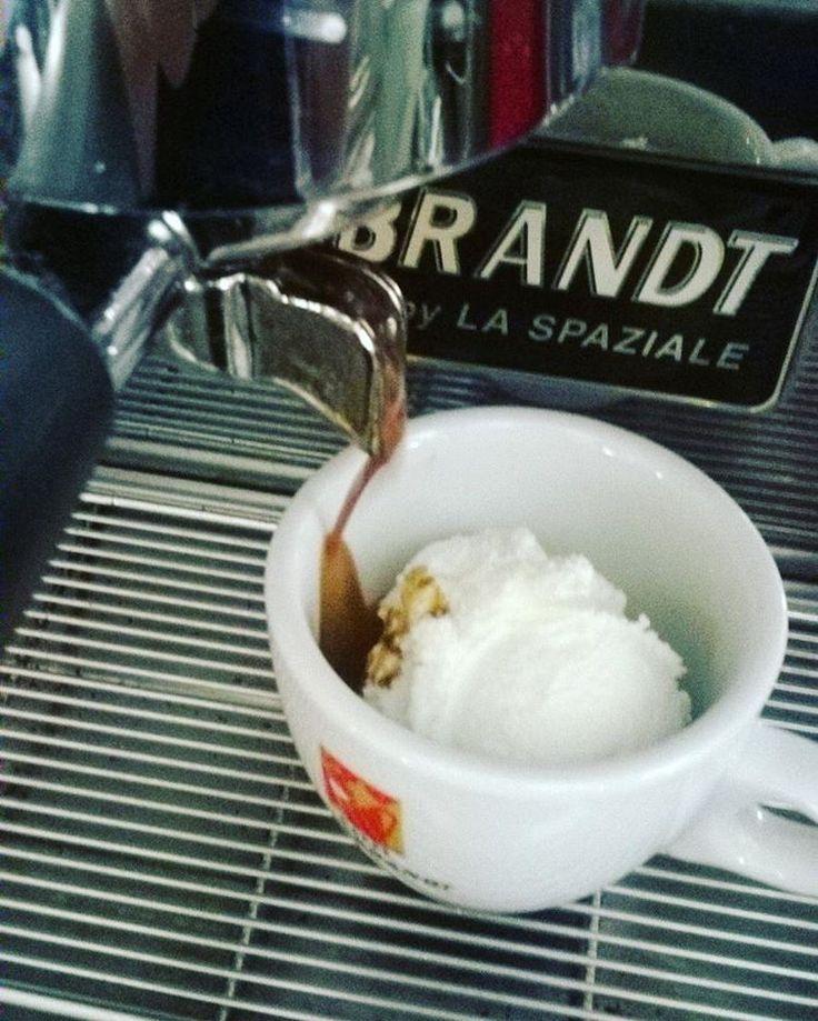 #hausbrandtsummer #hausbrandtcoffee #caffeegelato  #instacoffeee #caffeinomani #caffé #gelato #icecream #helado #23anniconvoi #gelateriarcobalenoroverchiaraverona