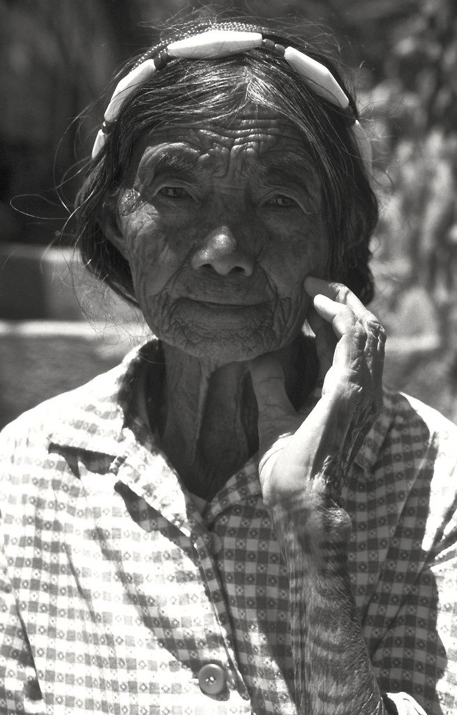 Woman with Traditional Tattoo (Banaue, Philippines)