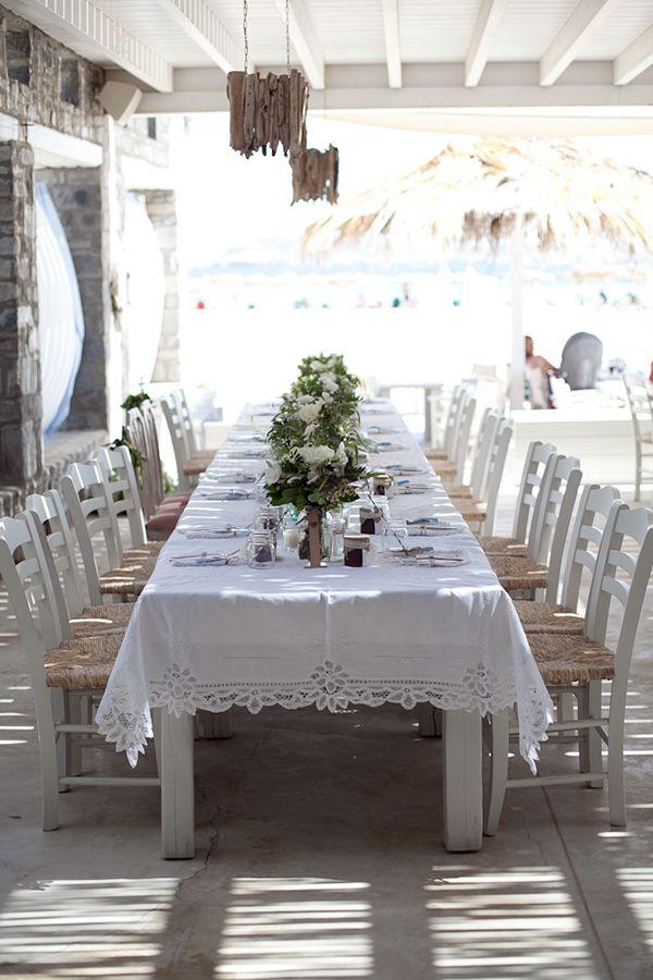 Chic μποεμ γαμος στην παραλια | Βικυ & Γιαννης  See more on Love4Weddings  http://www.love4weddings.gr/chic-boem-beach-wedding/  Photography by White Frame   http://whiteframe.gr/