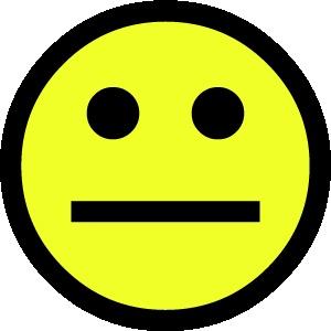smiley 1 neutraal FC sticker