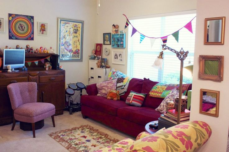 25 best ideas about hipster living rooms on pinterest - Dorm living room decorating ideas ...