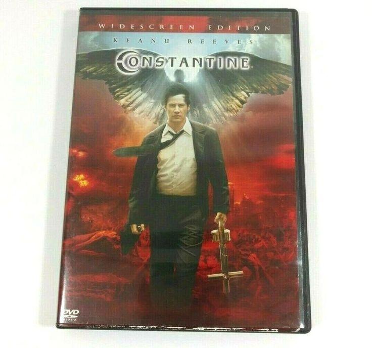 Constantine dvd 2005 widescreen keanu reeves rachel weisz