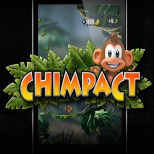 Playing with a chimpanzee on Chimpact, game and Funny to android | Android Specification Reviews