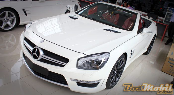Mercedes-Benz SL63 AMG #info #BosMobil