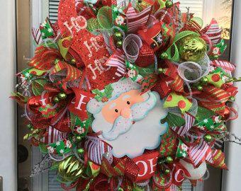 Dog Wreath Dog Christmas Wreath Holiday Dog by SplendidHomecrafts