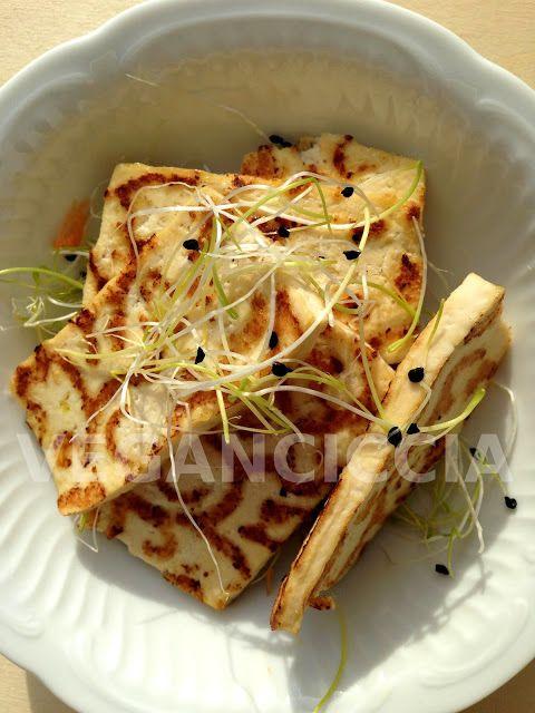 Veganciccia: Tofu Grigliato in Insalata