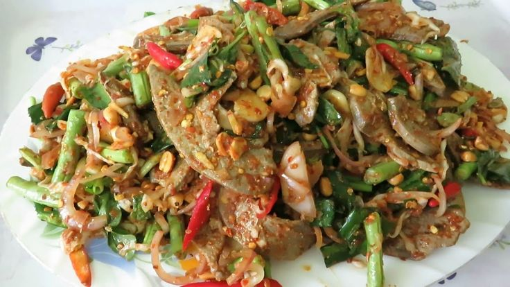 How To Cook Spicy Pork Liver With Mixed Veg - Quick And Easy Recipes