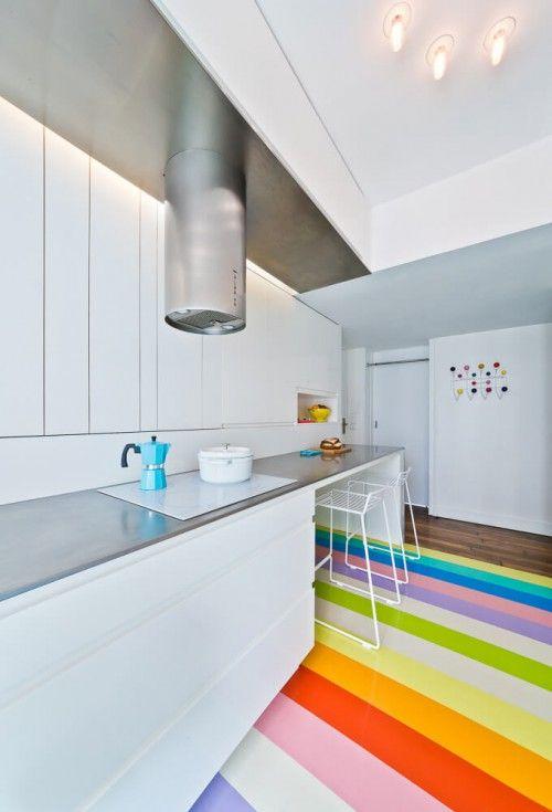 Appartement ontwerp voor jonge modeontwerpster