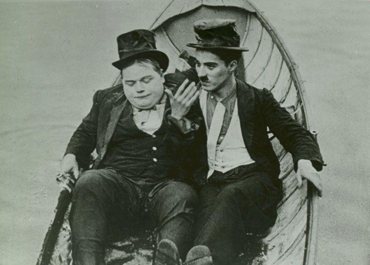 """Roscoe """"Fatty"""" Arbuckle & Charlie Chaplin"""