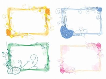350  Free Fabulous Labels, Borders and Frames. Marcos chulos