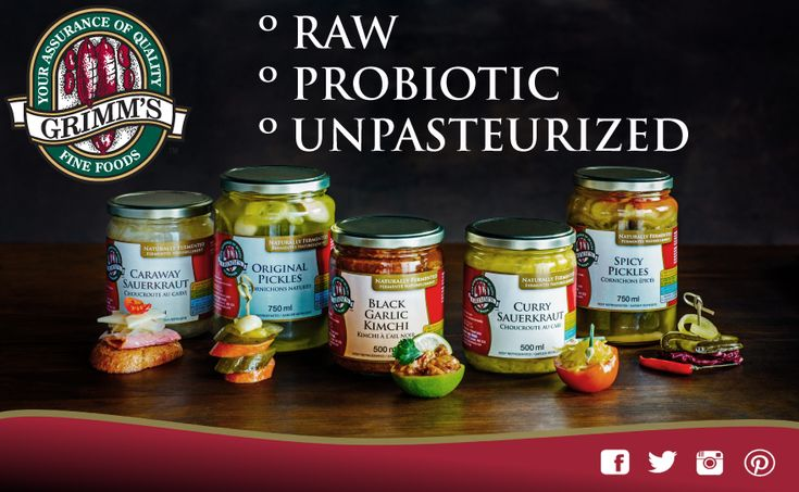 Get Set for a Digestive Health Makeover! Grimm's Naturally Fermented Foods are filled with probiotic bacteria that promote good gut flora and contribute to overall digestive health. SEE: https://theceliacscene.com/fermented-foods-support-gut-health-celiac-disease/