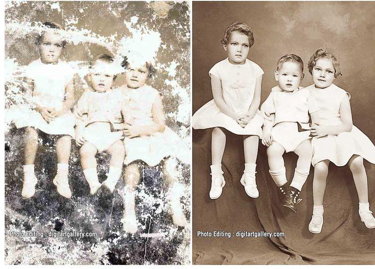 Extensive Photo Restoration