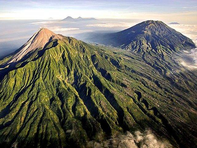 Mt. Merapi, Indonesia