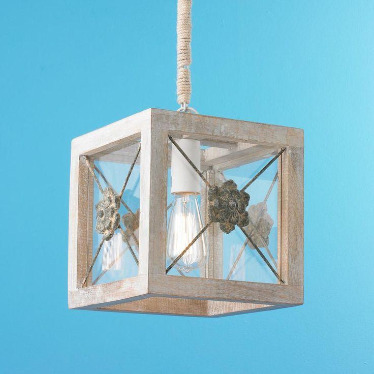 Rosette And Lattice Wood Lantern Lighting Ideas Wood