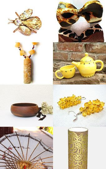 Cheetah and Bumblebee --Pinned with TreasuryPin.com
