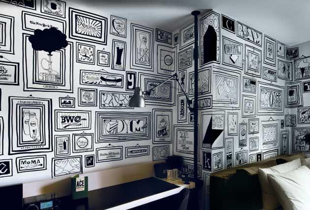 Timothy Goodman's Ace Hotel Mural