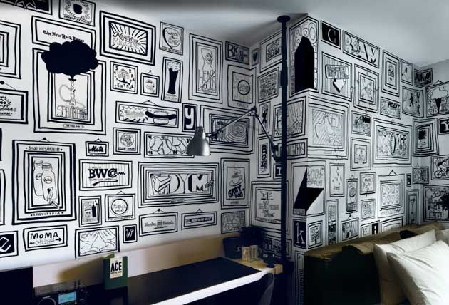 Timothy Goodman's Ace Hotel Mural