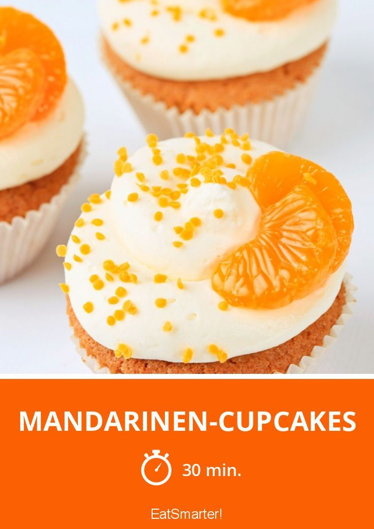 Mandarinen-Cupcakes - smarter - Zeit: 30 Min.   eatsmarter.de
