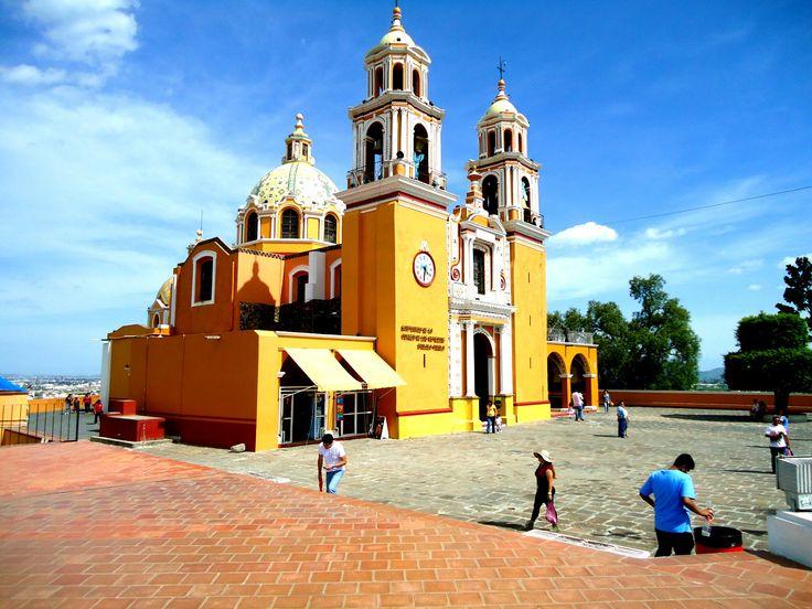 Santuario de la Virgen de los Remedios, Cholula, Puebla.