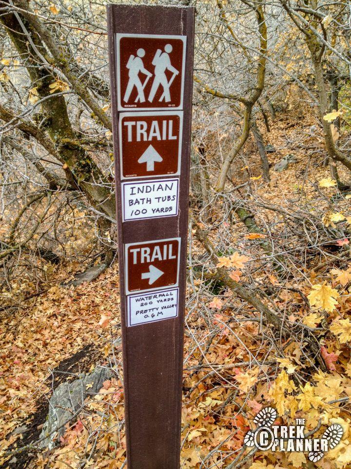 Davis Creek and Indian Bath Tubs - Farmington Utah