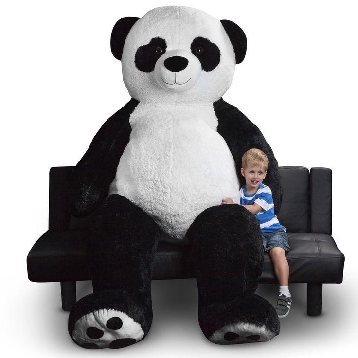 best 25 panda stuffed animal ideas on pinterest pom pom maker diy crafts and hobbies and diy. Black Bedroom Furniture Sets. Home Design Ideas