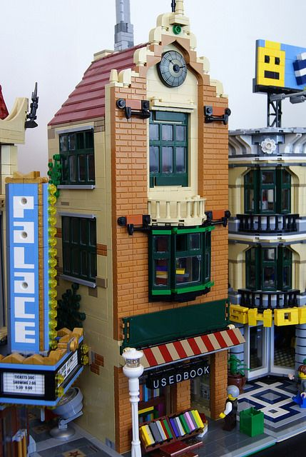 Lego Used Book Store