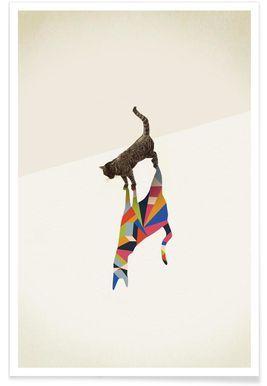 Walking Shadow - Cat - Jason Ratliff - Premium Poster