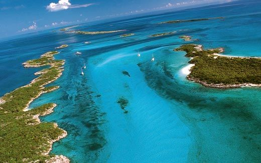 "The out islands of the Bahamas are the ""real Bahamas"" - out away from the tourist trash and into some of the world's best diving, beach combing, shelling, fishing ."
