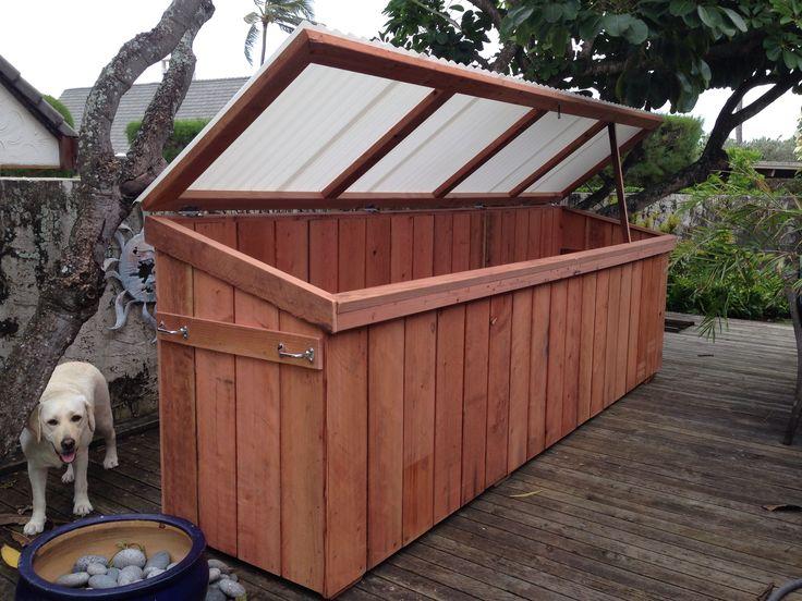 Redwood Stand Up Paddle Board Storage Locker Furniture
