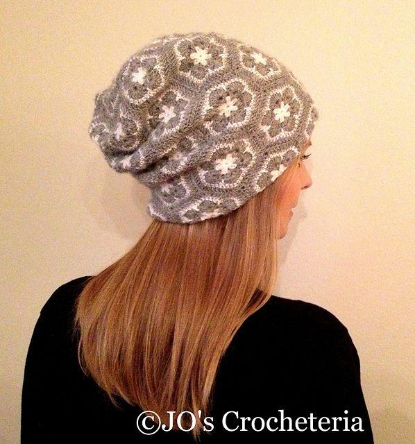 Ravelry: African Flower Hat pattern by JOs Crocheteria
